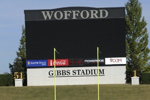 Wofford Terriers Video Bord