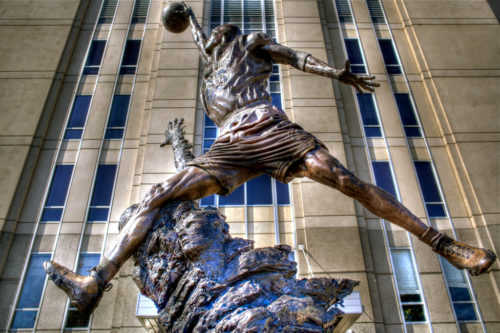 Michael Jordan Statue United Center