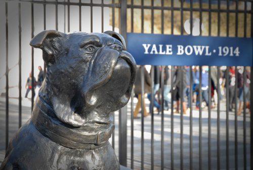 Handsome Dan Statue Yale Bowl