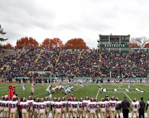 Dartmouth Football vs harvard