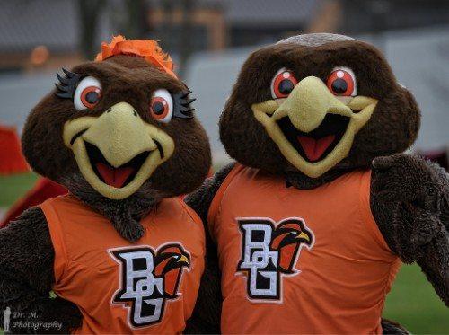 BGSU Falcons mascots