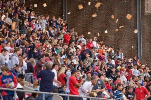 Penn Quakers fans