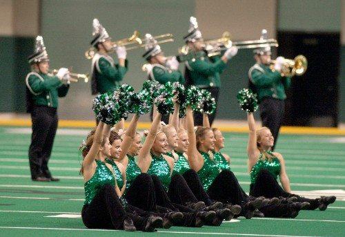 North Dakota Cheerleaders