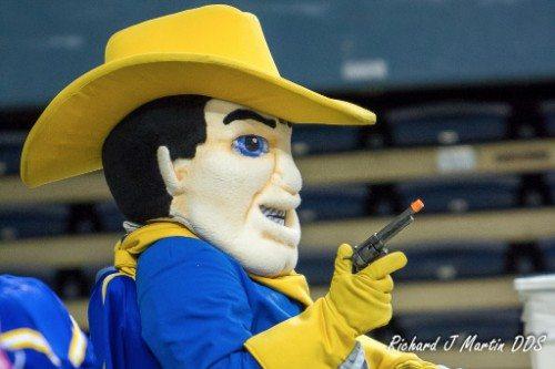 McNeese Mascot Rowdy