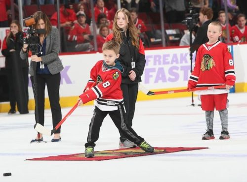 Chicago Blackhawks Shoot the Puck