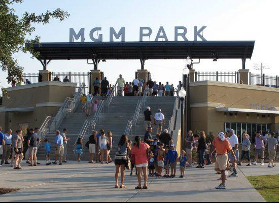Biloxi Shuckers tailgate MGM Park