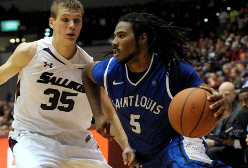 Southern Illinois Salukis vs Saint Louis Billikens basketball