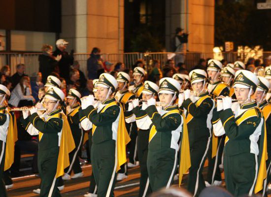 Cal Poly Mustangs marching band