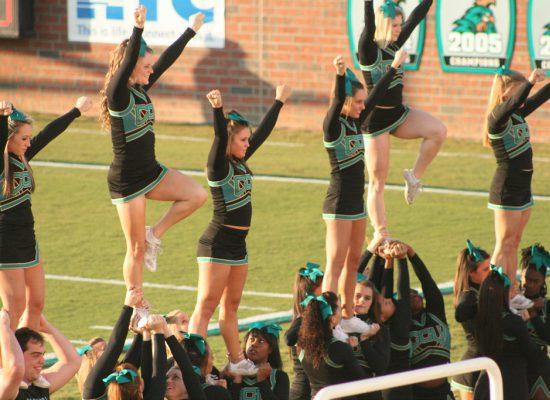 Coastal Carolina Chanticleers football cheerleaders