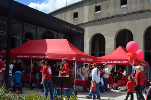 Cornell Big Red Homecoming tailgate