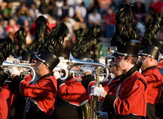JSU Jacksonville State Gamecocks marching band