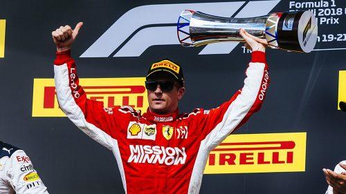 Kimi Raikkonen Grand Prix US 2018