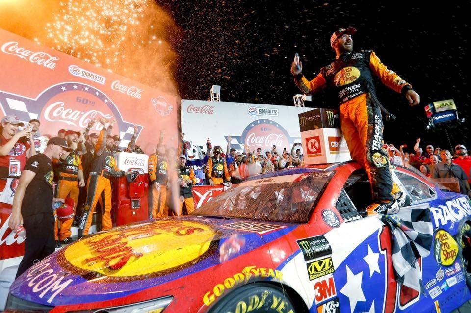 Charlotte Motor Speedway Truex Coca Cola