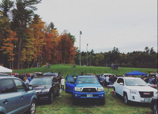 UNH Wildcats tailgate