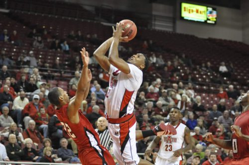 Arkansas State Red Wolves Basketball Convocation Center UL Lafayette Ragin Cajuns
