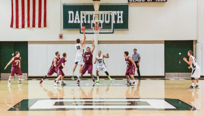 Dartmouth Big Green Basketball Leede Arena