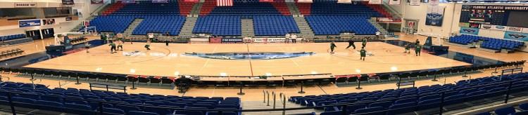 Florida Atlantic University FAU owls basketball arena