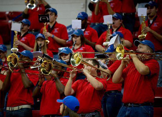 Louisiana Tech Bulldogs basketball band