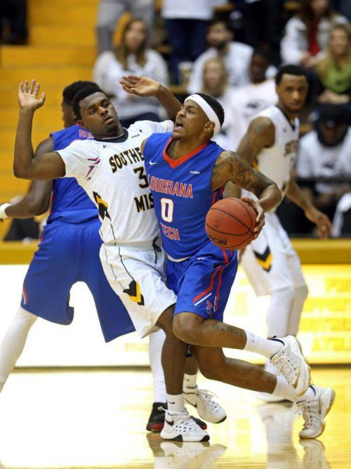 Southern Mississippi Golden Eagles LA Tech Bulldogs basketball rivalry