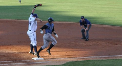 Tulsa Drillers Northwest Arkansas Naturals baseball