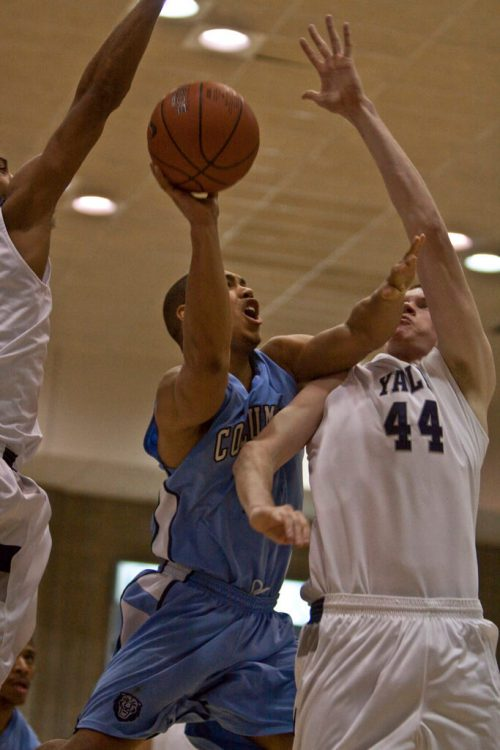 Yale Bulldogs basketball Columbia Lions