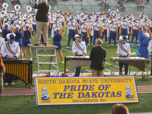 Pride of the Dakotas Marching Band
