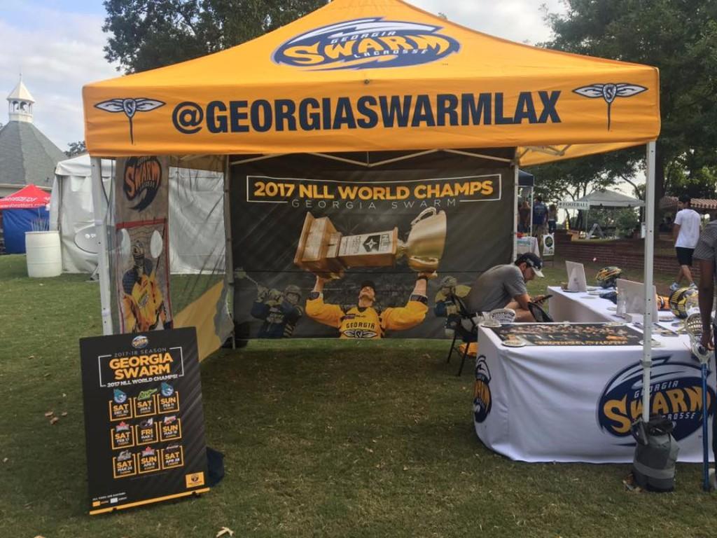 Georgia Swarm tailgate