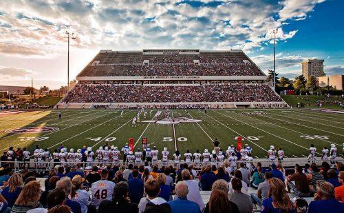Eastern Kentucky Colonels Roy Kidd Stadium