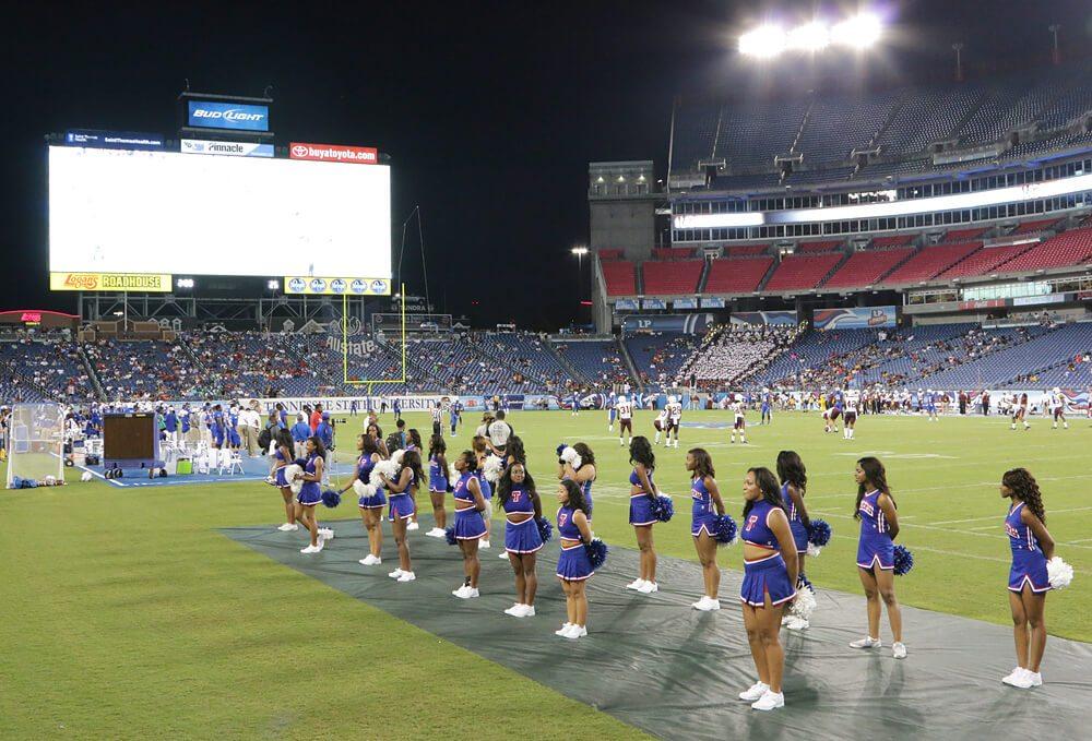 Tennessee State Tigers cheerleaders