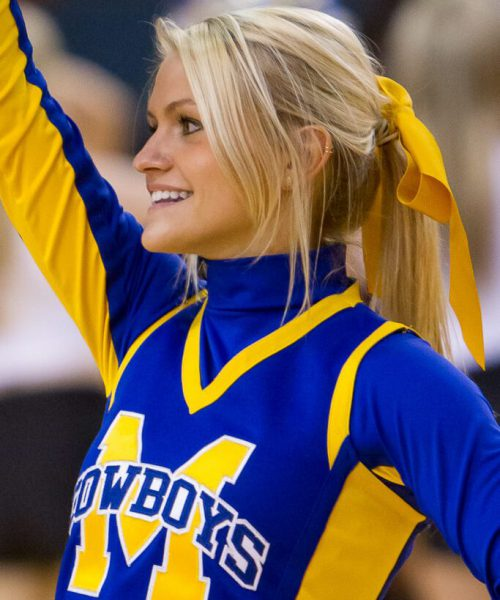 McNeese State Cowboys cheerleaders