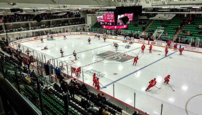 Belleville Senators Yardmen Arena