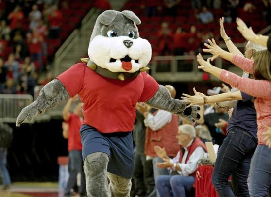 Fresno State Bulldogs mascot Victor Bulldog