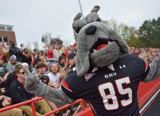 Mack Mascot Gardner Webb Runnin Bulldogs