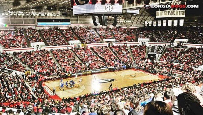 Georgia Bulldogs Stegeman Coliseum
