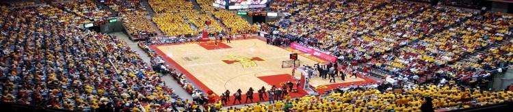 Hilton Coliseum Iowa State Cyclones