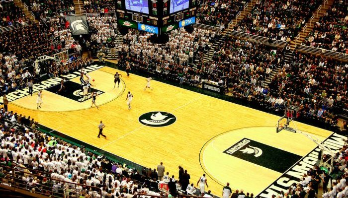 Jack Breslin Student Events Center Michigan State Spartans