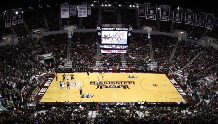 Mississippi State Bulldogs Humphrey Coliseum