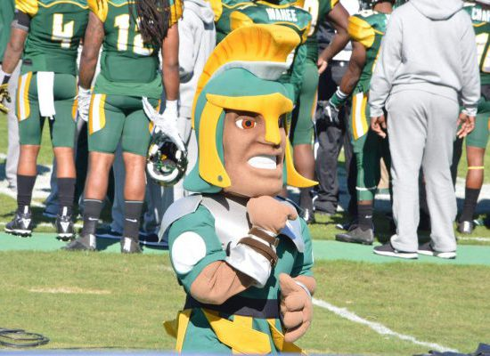 Norfolk State Spartans mascot
