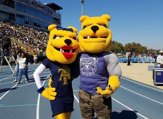 North Carolina AT Aggies Aggie Stadium mascot Aggie