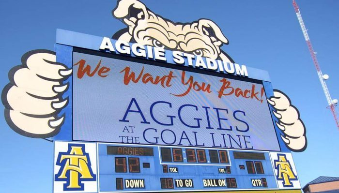 Aggie Stadium North Carolina AT Aggies