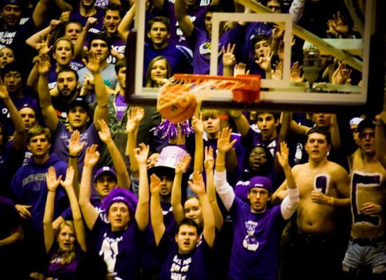 Welsh Ryan Arena Northwestern Wildcats fans