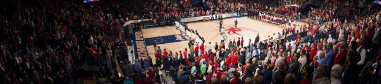 Richmond Spiders basketball Robins Center