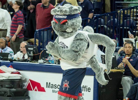 Richmond Spiders mascot WebstUR