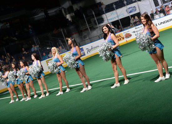Rochester Knighthawks cheerleaders
