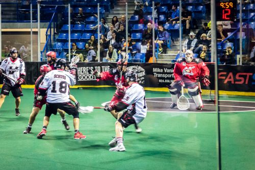 Vancouver Stealth vs Calgary Roughnecks