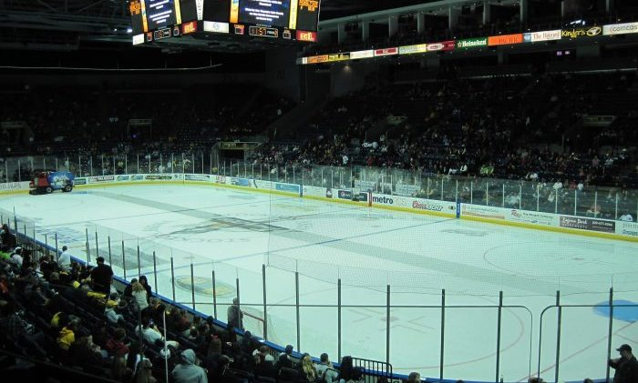 Stockton Heat arena
