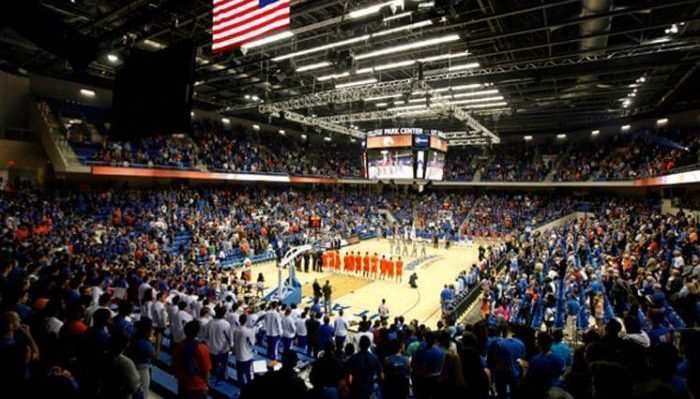 Texas Arlington Mavericks College Park Center