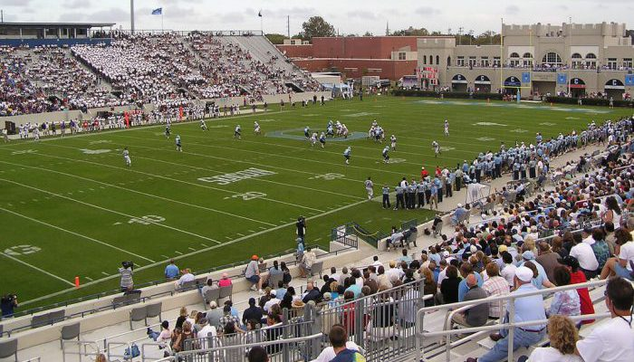The Citadel Bulldogs Johnson Hagood Stadium