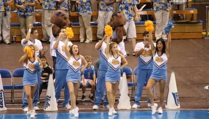 UCLA Bruins cheerleaders
