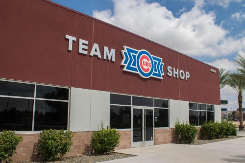 Chicago Cubs team shop Sloan Park